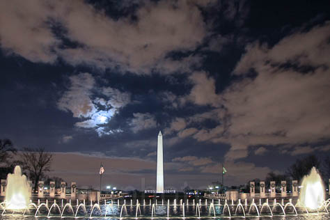 World War II Memorial / Washington Monument