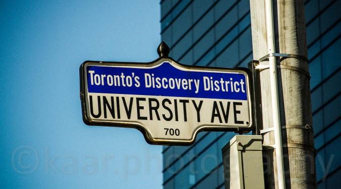 Toronto – The Tour