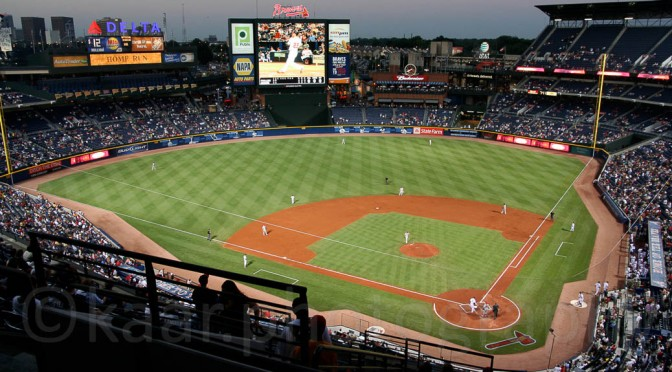 Baseball: Atlanta Braves play the Philadelphia Philies