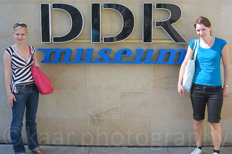 Christina, Elisabeth and The DDR Museum