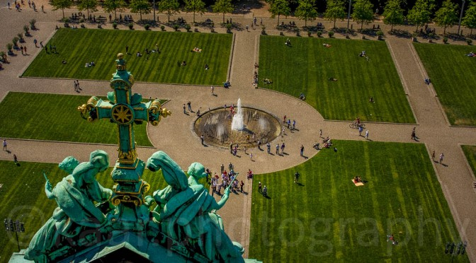 Lustgarten from Berlin Cathedral (© Peter Holler)