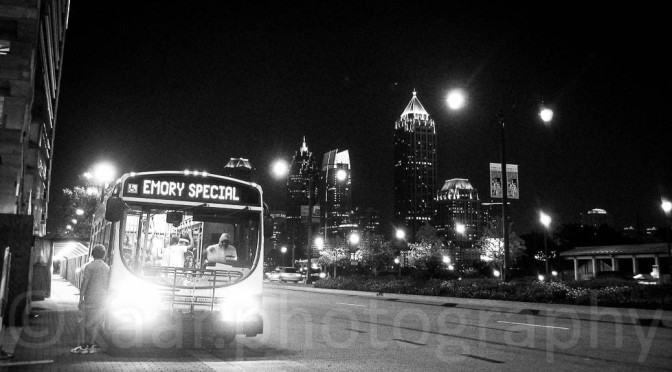 Emory Shuttle at Atlantic Station