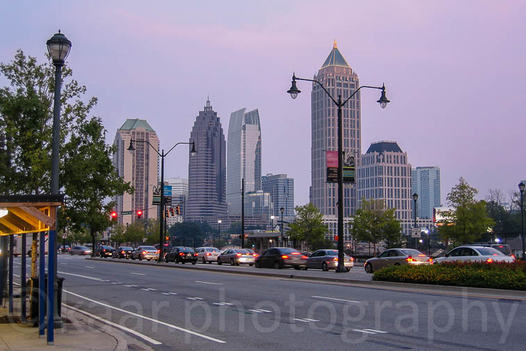 Atlanta Midtown Skyline at Atlantic Station