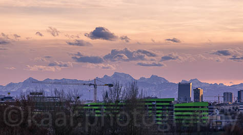 Linz and the Alps