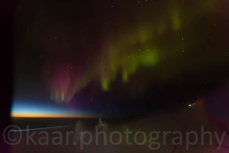 Aurora Borealis above Iceland