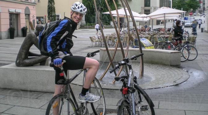 Cycling from Passau to Linz