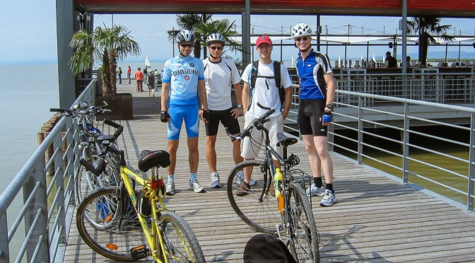 Cycling Around Lake Neusiedl