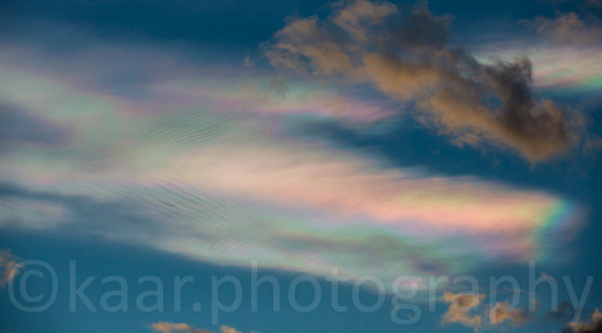 Iridescent Clouds over Linz